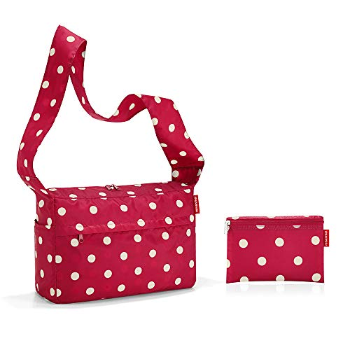 Reisenthel Mini Maxi Citybag Shopper Einkaufstasche Schultertasche Umhängetasche (Ruby dots)