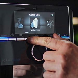 Siemens TZ70033 Brita Intenza Wasserfilter, reduziert Kalkgehalt im Wasser, für EQ.Serie und Einbauvollautomaten, 3 Stück, weiß