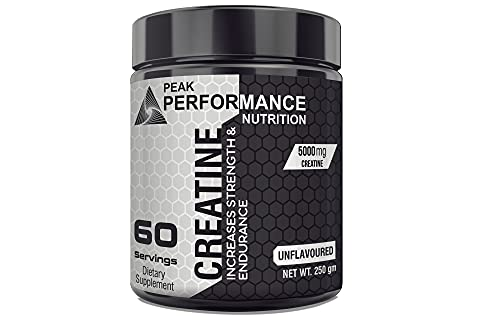 Peak Performance Nutrition Creatine, Strength, Reduce Fatigue, 100% Pure, Lean Muscle Building, Supports Muscle Growth, Explosive Athletic Performance, Recovery (Unflavored)