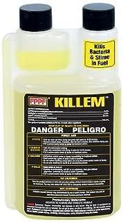 FPPF 00119 KILLEM BIOCIDE 16 OZ. Bottle, Treats 1920 GALLONS Diesel Fuel PER Bottle (2 Pack)
