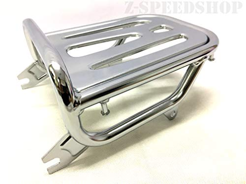 C125 Super cub 125 2018 2019 Rear Luggage Rack Genuine Part Silver Chrome