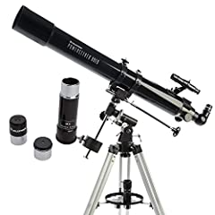 PERFECT BEGINNERS TELESCOPE: The Celestron PowerSeeker 80EQ is an easy-to-use and powerful telescope. The PowerSeeker series is designed to give the first-time telescope user the perfect combination of quality, value, features, and power. MANUAL GERM...