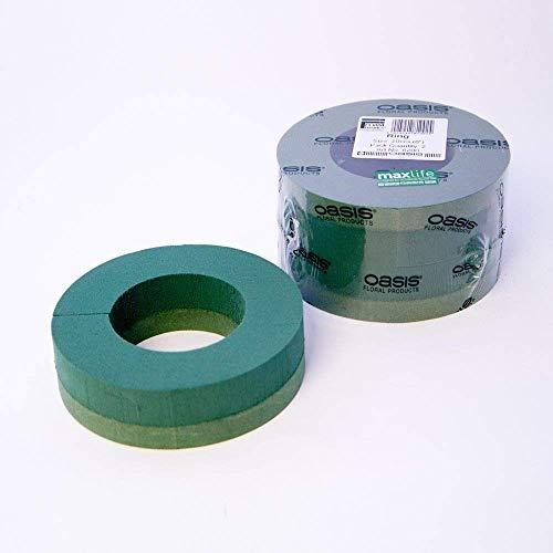 Pack of 2 Oasis Foam Wreath Rings 8' (20cm)