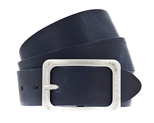 Vanzetti 35 mm Ledergürtel, dunkel-blau(nachtblau (0490)), Gr. 105
