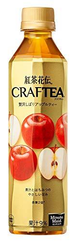 コカコーラ 紅茶花伝 クラフティー 贅沢しぼりアップルティー 410ml本