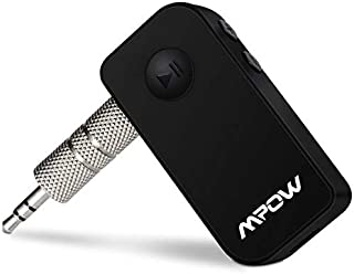 Mpow Portable Bluetooth 3.0 Audio Music Streaming Receiver Adapter with Hands Free Calling