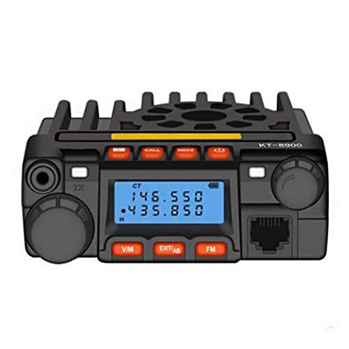 Garsent Autoradio, tragbares Mini-Doppelband-Hochleistungs-LCD-Autoradio VHF/UHF-Autoradio Walkie Talkie Mini-CB-Mobilfunkgerät.