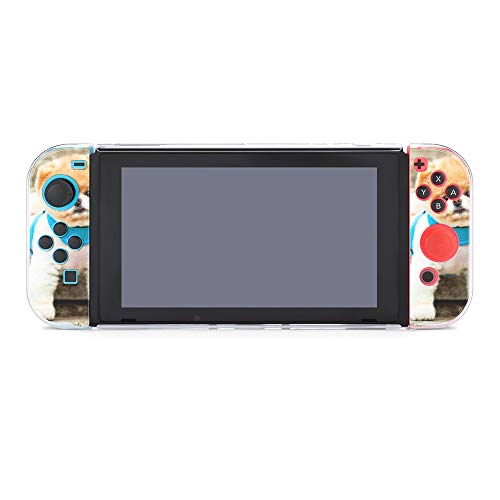 Case for Nintendo Switch,Boo The Cutest Dog Protective Case Cover for Nintendo Switch Funny Fashion Switch Game Shell Handheld Grip Protector Cover