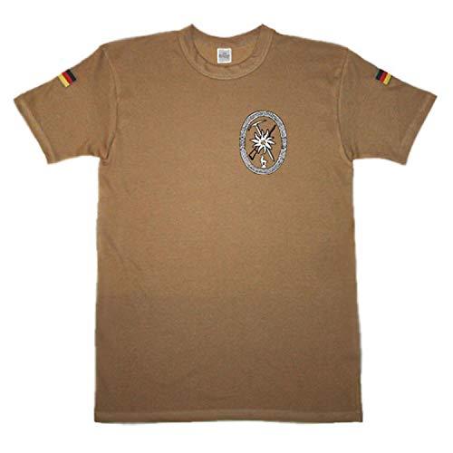 Copytec BW Tropen Gebirgsjäger Allgemein Wappen Abzeichen Emblem #14659, Größe:3XL, Farbe:Khaki