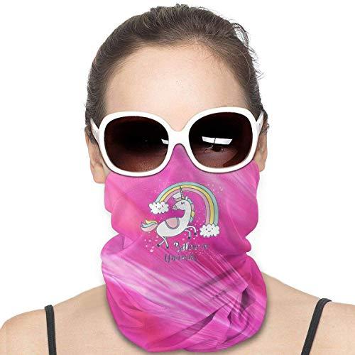 Niedliche Einhorn-Gesichtsmaske für Staub, Outdoor, Festivals, Sport