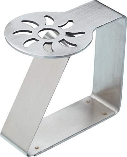 BHG Tischdeckenklammern, Edelstahl, 5 x 4 cm, 4 Stück, Sonne
