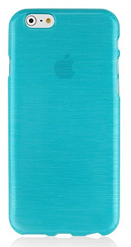 Gütersloher Shopkeeper - Carcasa de silicona para iPhone 6S Plus, color turquesa