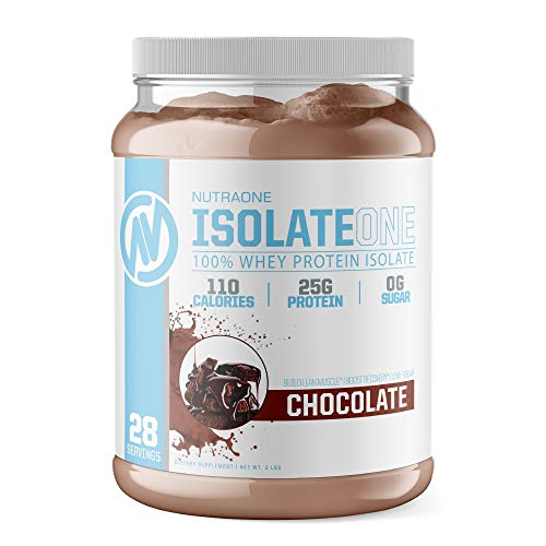 IsolateOne Whey Isolate Protein Powder by NutraOne