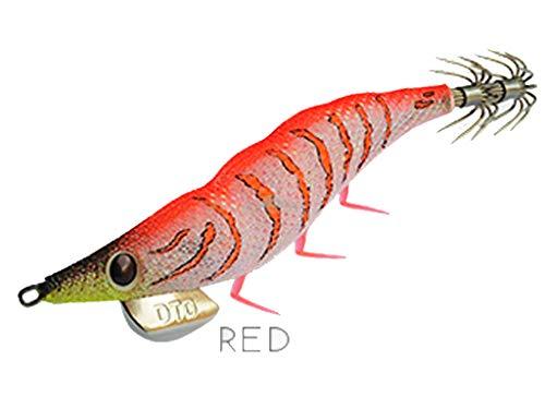 DTD Oita Squid Jig GAMBERINO 3.0# - 14.3g Rojo