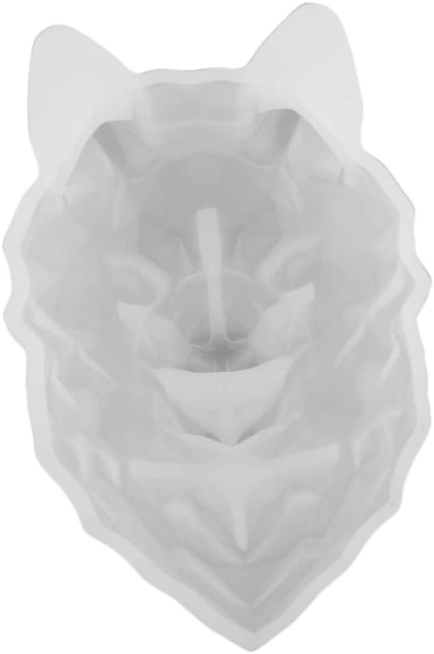 Fityle 3D Heart Rabbit Wolf Head Discount is lowest price also underway Jewelr Casting Resin Mould Lion