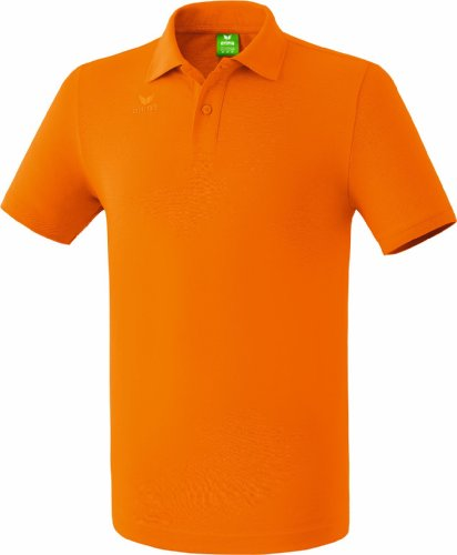 erima Kinder Teamsport Poloshirt, orange, 128