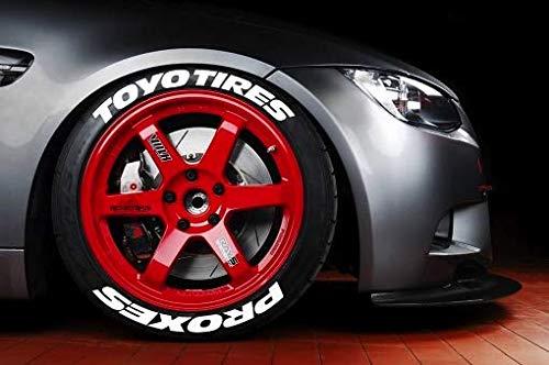 LK Performance Original Gummi erhöhte Toyo Reifen Aufkleber Aufkleber Vinyl