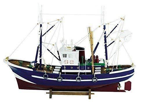 Grande Barca de Pesca, Barco de Pesca, Zweimast Cortador de Modelismo Modellboot