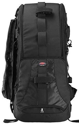 Large Professional DSLR Camera Backpack & Laptop Travel Camera Bag with Rain Cover for Digital Cameras, 22L, Tablet, Lens Kit for Full Frame Mirrorless Digital Camera