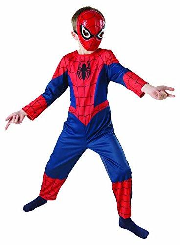 Rubie s IT887696-M - Ultimate Spiderman Classic Costume, in Scatola, Taglia M