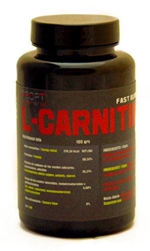 L-CARNITINA 120 CAPS DE 600MG PROPT