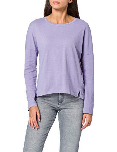 edc by Esprit 011CC1K304 Camiseta, 560/Lilac, XL para Mujer