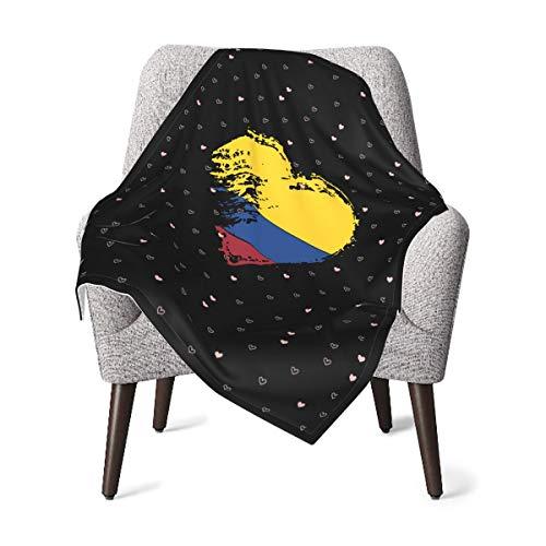 MDFE I Love Colombia - Manta suave y cálida para bebé, regalo para niños, niñas, niños y recién nacidos