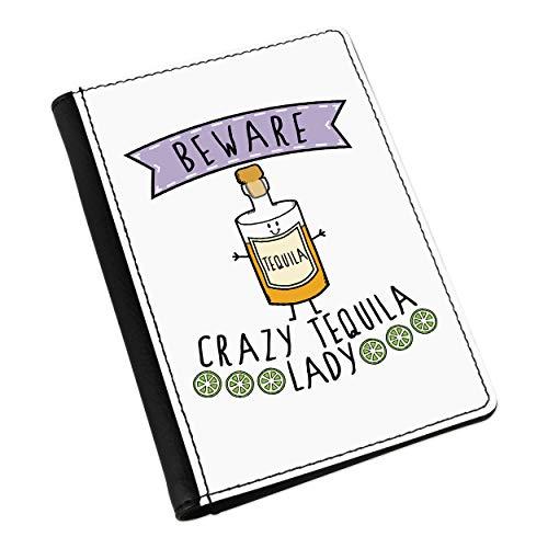 Beware Locas Tequila Mujer Pasaporte Funda Soporte