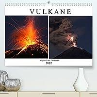 Vulkane - Magma, Lava, Eruptionen (Premium, hochwertiger DIN A2 Wandkalender 2022, Kunstdruck in Hochglanz): Eine Bilderreise zu den Vulkanen der Welt (Monatskalender, 14 Seiten )