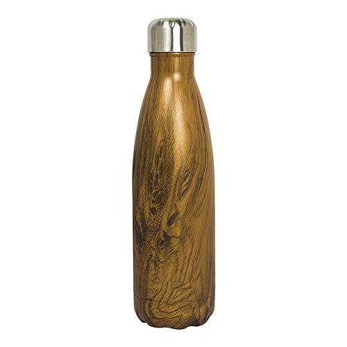 Waterfles Lekvrije Cola Bottle Creative RVS geïsoleerde Water Bottle, waterdicht Fiets Lichtgewicht Warm vacuüm verpakt Sport Bottle (580ML) Outdoor Camping (Color : Picture color, Size : 26.5x6cm)