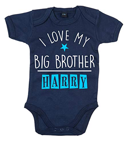 Edward Sinclair Body personalizado con nombre «I Love My Big Brother».