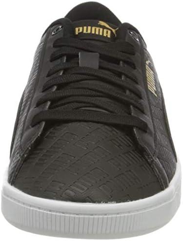 PUMA Vikky v2 Sig, Women's Sneakers, White (Puma White/Gold/Puma ...