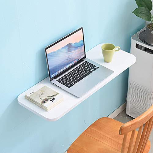 Lsqdwy An der Wand montierter Drop-Leaf-Tisch, klappbarer schwimmender Laptop-Schreibtisch, Drop-Leaf-Wand-Tisch für...