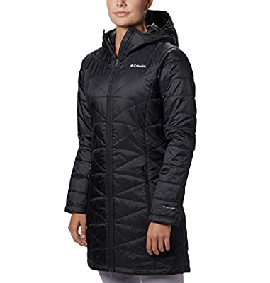 Columbia Women's Mighty Lite Hooded Jacket, Black, 2X