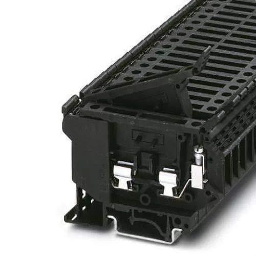 Phoenix PHOE Sicherungsklemme UK 5-HESI für Sicherungen 5x20mm, Schwarz
