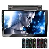 XOMAX XM-2D1006 Autoradio con mirrorlink, LED Colori di illuminazione, vivavoce bluetooth, schermo...