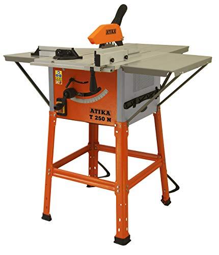 ATIKA T 250 N Tischkreissäge Tischsäge Kreissäge Holzsäge | 230V | 1800W | Sägeblatt: Ø 250 mm