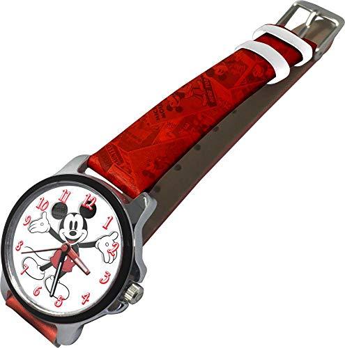 Mickey Mouse Reloj de Pulsera Aloy Caja Regalo de Mickey (WD20176), Multicolor (Kids Licensing 1)