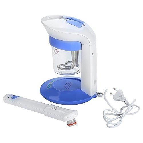 Facial Spa Steamer, Vaporisateur Facial Ionique et Ozone Rotatif Aromatherapy pour le Nettoyage, l'hydratation et le Contrôle de l'huile