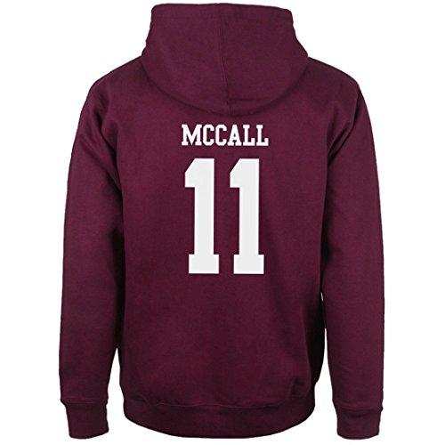 Beacon Hills Lacrosse - Felpa con Cappuccio McCall 11 Medium