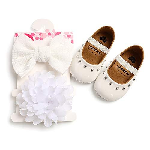Zapatos de Niña Zapatos Antideslizantes Zapatos de Princesa Suelas para Zapatos Primeros Zapatos para Niñas Regalo para Bebé