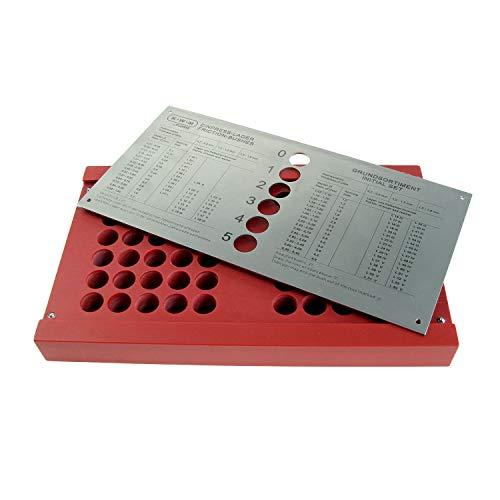 Luxus-Box – LEER – Für KWM-Sortiment – Gefertigt aus rotem Spezial-PVC – STABIL und PRAKTISCH – Gewicht: ca. 630 g – C332347