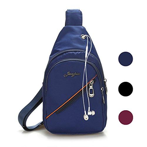 Veriya Waterproof Casual Cross Body Bag Outdoor Shoulder Sling Chest...