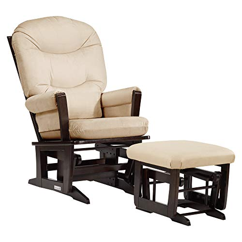 Dutailier Modern 0345 Glider Chair with Ottoman Included