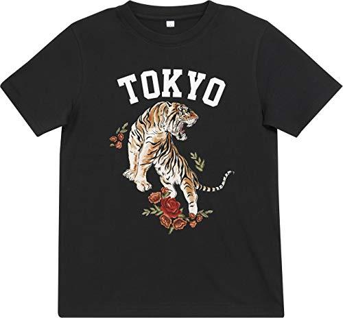 Mister Tee Kinder Tokyo T-Shirt, Black, 146/152