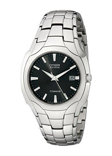 Citizen Men's Eco-Drive Tintanium Watch, BM6560-54H