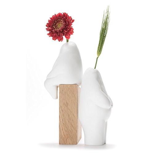 アッシュコンセプト+d(プラスディー)『Flowerman一輪挿しシッティング座り(D-900)』