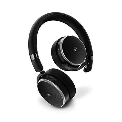 AKG AKGN60NCBTBLK Black,Silver Supraaural Head-band headphone - headphones (Wired/Wireless, 10-22000 Hz, 1.2 m, Black, Silver)