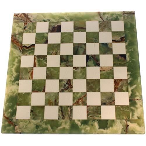 Tablero De Marmol Ajedrez Tamaño 40 x 40 cm. O-M