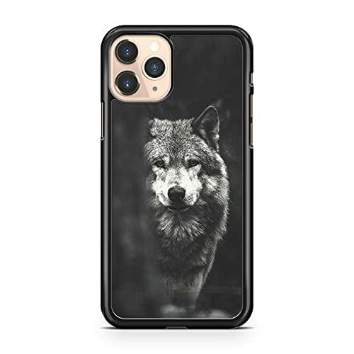 Compatibile con Majestic Ultra Potente Elegante Colorato Viscoso Compatibile con Wolf Animal Phone Cover (Modello Telefono: Compatibile con Apple iPhone 5)